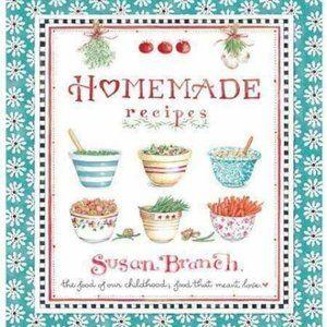 Susan Branch Homemade Deluxe Recipe Binder